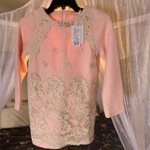 Pink Formal 5T Holiday Party Fun Wedding Dress